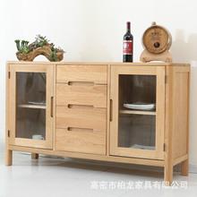 storage cabinets kitchen small appliances 厨房储物柜 厨房储物柜批发 促销价格 产地货源 阿里巴巴 实木餐边柜现代简约白橡木茶柜简易餐厅碗柜多功能