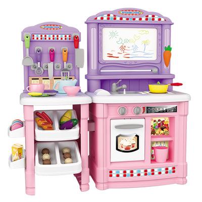kids kitchen toys tables and chairs for small spaces 儿童玩具 儿童厨房玩具套装仿真厨具做饭女童女孩煮饭过家家宝宝 阿里巴巴 北美风儿童厨房玩具套装仿真厨具做饭女童女孩煮饭过家