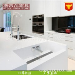 Kitchen Island Prices Design Layout 厨房中岛台 厨房中岛台批发 促销价格 产地货源 阿里巴巴 高端大气的白色厨房中岛台配水槽水龙冰