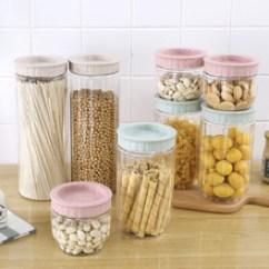 Kitchen Jars Different Kinds Of Sinks 塑料零食罐子 塑料零食罐子价格 优质塑料零食罐子批发 采购 阿里巴巴 塑料透明密封罐储物罐厨房五谷杂粮食品收纳盒储存罐零食