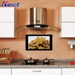 Smart Tv Kitchen Martha Stewart Cabinets 厨房电视 厨房电视批发 促销价格 产地货源 阿里巴巴 定制款黑色22寸智能厨房防水触控屏镜面电视智能网络电视
