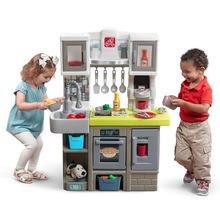 american plastic toys custom kitchen floor for 进口仿真玩具 进口仿真玩具批发 进口仿真玩具品牌 价格正品保障 阿里 美国进口step2儿童过家家角色扮演玩具塑料厨房套装大型风格厨房