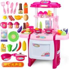 Childrens Toy Kitchen Cabinets Ft Myers Fl 小孩过家家玩具厨房 小孩过家家玩具厨房价格 小孩过家家玩具厨房批发 儿童过家家厨房玩具3 7岁男女孩做饭煮饭