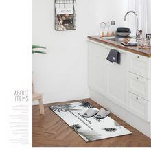 cheap kitchen floor mats countertop options for pvc厨房地垫价格 最新pvc厨房地垫价格 批发报价 pvc厨房地垫多少钱 阿里巴巴 37度生活北欧风皮革仿马赛克瓷砖厨房地垫长款防水防