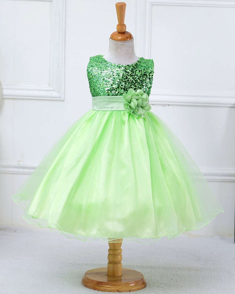 9339304651 1319078801 1-14 yrs teenagers Girls Dress Wedding Party Princess Christmas Dresse for girl Party Costume Kids Cotton Party girls Clothing