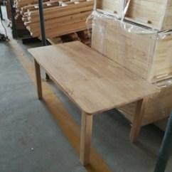 Oak Kitchen Tables Flooring Ideas For 厨房餐桌 厨房餐桌品牌 图片 价格 厨房餐桌批发 阿里巴巴 厂家批发实木餐桌橡木厨房简餐桌椅小户型4 6人