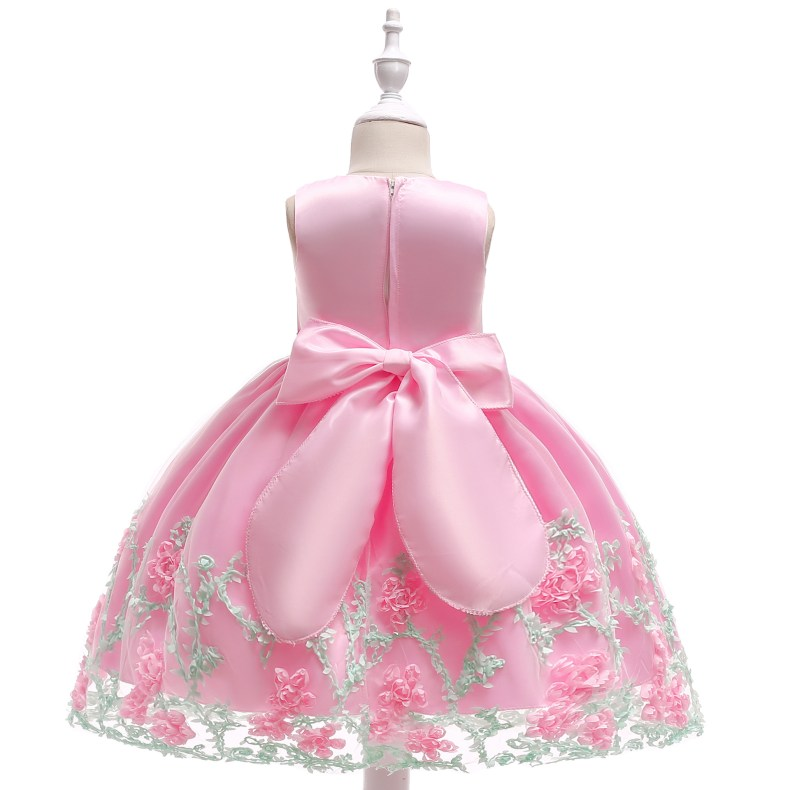 8883314633 1028449503 2019 Kids Tutu Birthday Princess Party Dress for Girls Infant Lace Children Bridesmaid Elegant Dress for Girl baby Girls Clothes