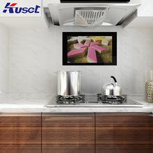 smart tv kitchen cabinet ideas for small kitchens 厨房电视 厨房电视批发 促销价格 产地货源 阿里巴巴 特价23 6寸黑色镜面防水触摸智能电视智能家居专用厨房液晶电视