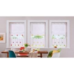 Fruit Kitchen Curtains Ceiling Paint 水果窗帘 水果窗帘批发 促销价格 产地货源 阿里巴巴 速卖通亚马逊外贸款高密度底纱小窗帘小咖啡帘厨房