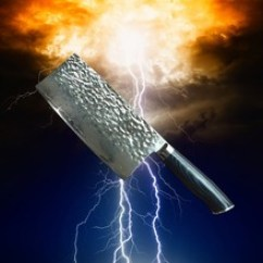Katana Kitchen Knife Sinks 中式菜刀 中式菜刀价格 优质中式菜刀批发 采购 阿里巴巴 大马士革钢菜刀美卡塔锤纹中式菜刀切片切肉厨师刀跨