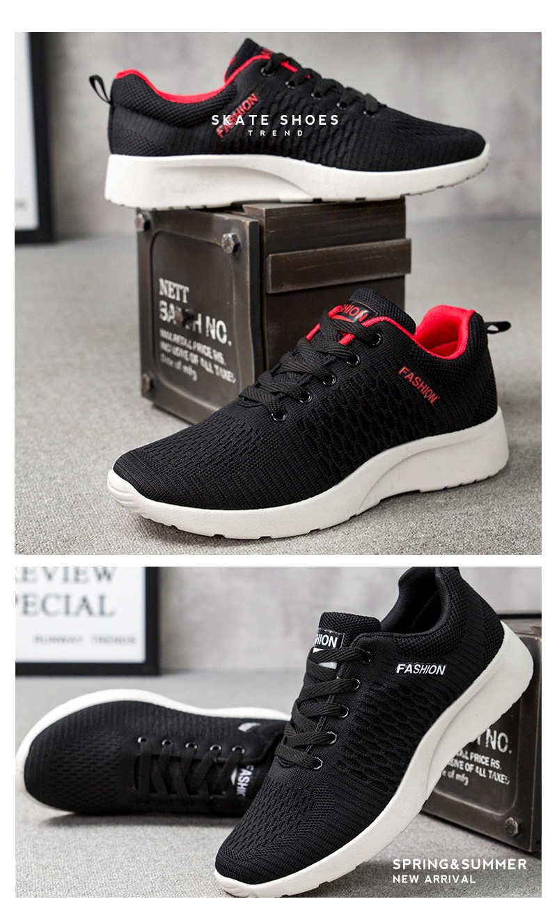 ciwoeiaa Fashion Women Sports Sandals Mesh Female Casual Shoes Breathable Wedge Sneakers