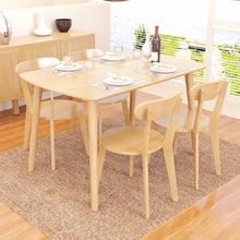 modern kitchen table trash can cabinet 厨房桌子 厨房桌子批发 促销价格 产地货源 阿里巴巴 北欧风纯实木餐桌现代简约长方形橡胶木吃饭桌子厨房餐厅家具单