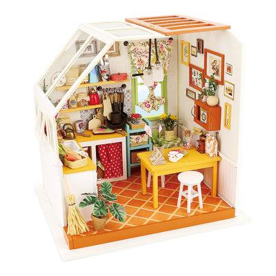 tiny house kitchens kitchen base cabinets with drawers 模型玩具 diy迷你小屋可爱风厨房模型手工拼装餐厅模型微型 阿里巴巴 diy迷你小屋可爱风厨房模型手工拼装餐厅小房子模型微型玩具小屋