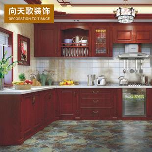 10x10 kitchen cabinets wood counters l型橱柜图片 海量高清l型橱柜图片大全 阿里巴巴 向天歌整体橱柜定做l型中式风格厨房厨柜定制全屋
