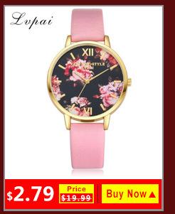03686a89ce3c 2017 Nuevo lvpai oro rosa flores pulsera de las mujeres Reloj clásico de  cuarzo relojes vestido de las mujeres relojes reloj Mujer