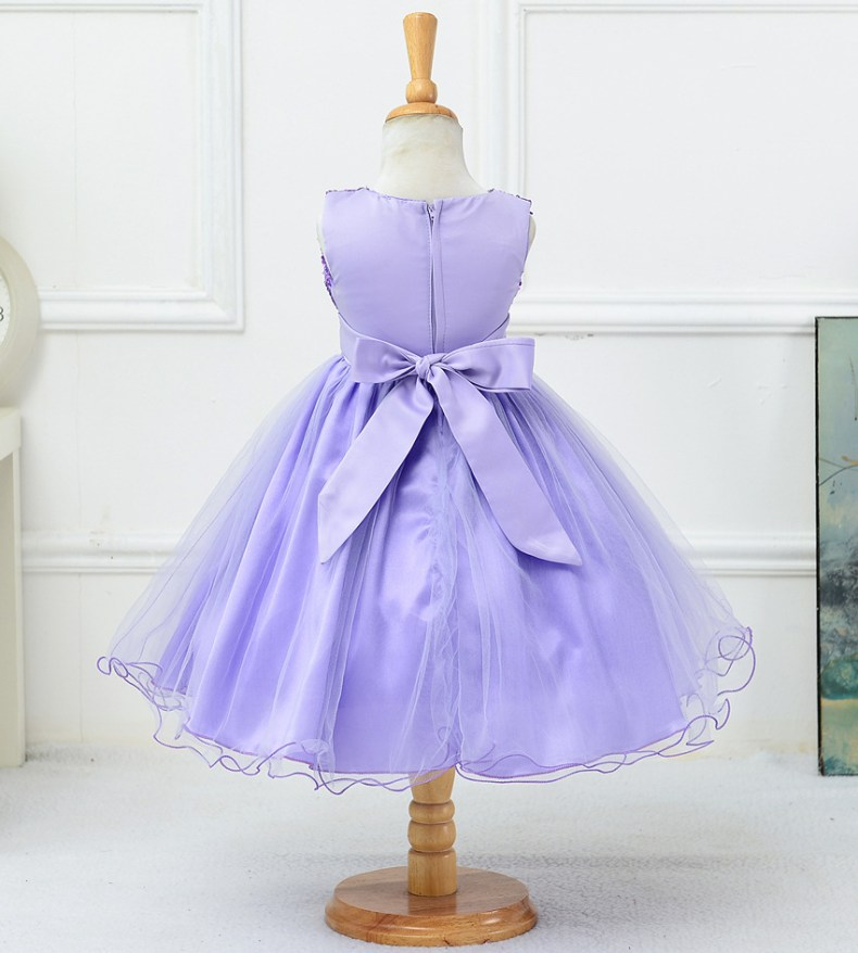 9314745555 1319078801 1-14 yrs teenagers Girls Dress Wedding Party Princess Christmas Dresse for girl Party Costume Kids Cotton Party girls Clothing