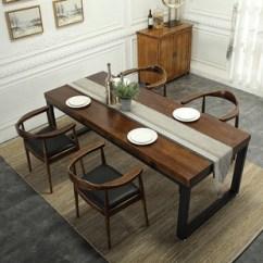 Zinc Kitchen Table White Chairs 厨房餐桌椅图片 海量高清厨房餐桌椅图片大全 阿里巴巴 美式复古做旧实木餐桌西餐牛排店工业风餐桌椅组合家庭