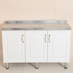 Kitchen Counter Bamboo Flooring In 厨房柜台 厨房柜台批发 促销价格 产地货源 阿里巴巴 简约厨房橱柜厨房碗柜100 80 45三门式不锈钢橱柜