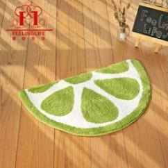 Lemon Kitchen Rug Commercial Appliances 半圆地毯地垫 半圆地毯地垫批发 促销价格 产地货源 阿里巴巴 跨境货源一件代发儿童半圆柠檬超细纤维浴室吸水防滑