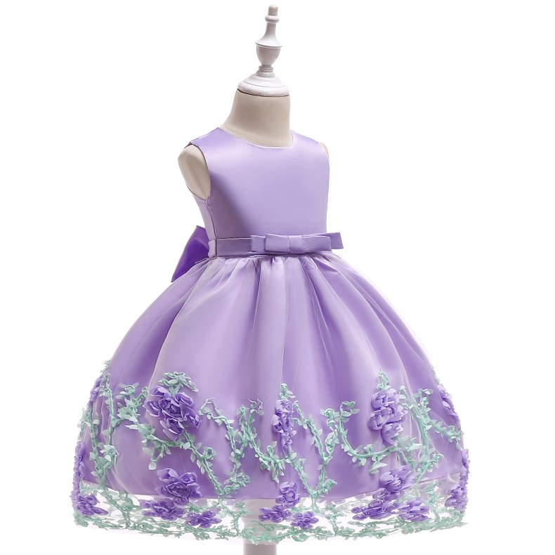 8866537396 1028449503 2019 Kids Tutu Birthday Princess Party Dress for Girls Infant Lace Children Bridesmaid Elegant Dress for Girl baby Girls Clothes