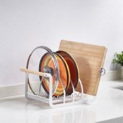 Kitchen Cutting Boards Kohler Faucets 厨房砧板架 厨房砧板架批发 促销价格 产地货源 阿里巴巴 日式小清新锅盖架铁艺厨房手提收纳砧板架简约多功能