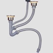kitchen sink drain pipe backsplashes for 厨房水槽排水管 厨房水槽排水管批发 促销价格 产地货源 阿里巴巴 洗菜盆下水管厨房防臭双槽双盆排水管水槽下水器