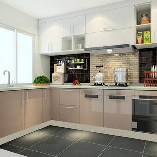 10x10 kitchen cabinets tin backsplash l型橱柜图片 海量高清l型橱柜图片大全 阿里巴巴 鑫佰丽l型u型橱柜定制丨简约现代开放式半开放
