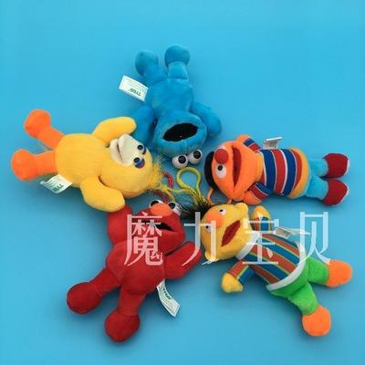 芝麻街艾摩甜餅干怪毛絨玩具玩偶掛件婚慶小禮物禮品娃娃機公仔-阿里巴巴