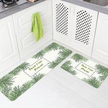 area rugs for kitchen ideas small kitchens 厨房地毯防水价格 最新厨房地毯防水价格 批发报价 厨房地毯防水多少钱 跨境ins厨房地垫地毯北欧皮革脚垫防油防水卧室长