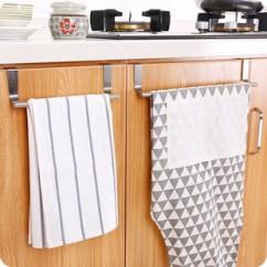 Kitchen Towels Towel Rack 厨房毛巾挂架图片 厨房毛巾挂架图片大全 阿里巴巴海量精选高清图片 厨房多用途不锈钢单杆毛巾架橱柜门背式抹布挂架卫生间