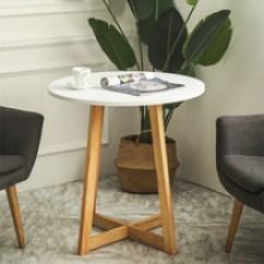 White Round Kitchen Table Used Equipment Miami 白色桌子简约 白色桌子简约批发 促销价格 产地货源 阿里巴巴 北欧简约木质实木创意圆形白色茶几卧室沙发边几桌子洽谈桌