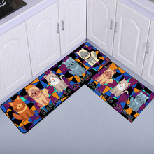 kitchen carpet sets home depot faucets delta 厨房地垫两件套 厨房地垫两件套价格 厨房地垫两件套批发 采购 阿里巴巴 猫咪卡通厨房浴室两件套地垫客厅卧室床边地毯儿童爬