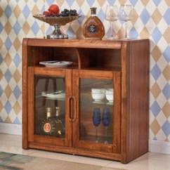 Kitchen Wine Cabinet Folding Tables 厨房酒柜 厨房酒柜价格 优质厨房酒柜批发 采购 阿里巴巴 美式实木餐边柜新中式厨房收纳橱榆木餐厅储物酒