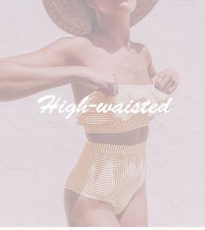 11194128982 1329338609 INGAGA Bikini 2019 One Shoulder Swimsuit Ruffle Swimwear Women Solid Women's Swimming Suit maillot de bain femme Sexy Biquini