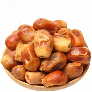 伊拉克黃金椰棗干進口椰棗香甜軟糯蜜棗500g散裝 中東黃金小棗-阿里巴巴