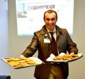 Stevo Roksandic Serving Patrons Milk and Cookies ©Mount Carmel Health System