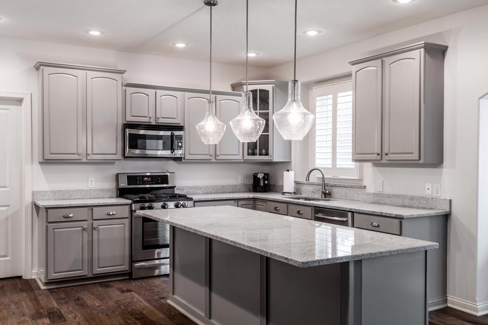 Kitchen Cabinet Makeover Ideas  Gray Kitchen Cabinets