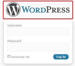 wordpress website login page