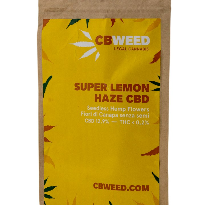 Cannabis Light Super Lemon Haze CBD 14,8% (5 g) CBD õied [tag]
