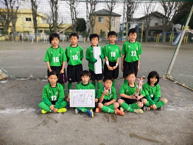 3年生:第34回ジュニア・フレンドリーカップ 招待少年サッカー大会