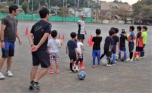 体験サッカー練習会 始まる!