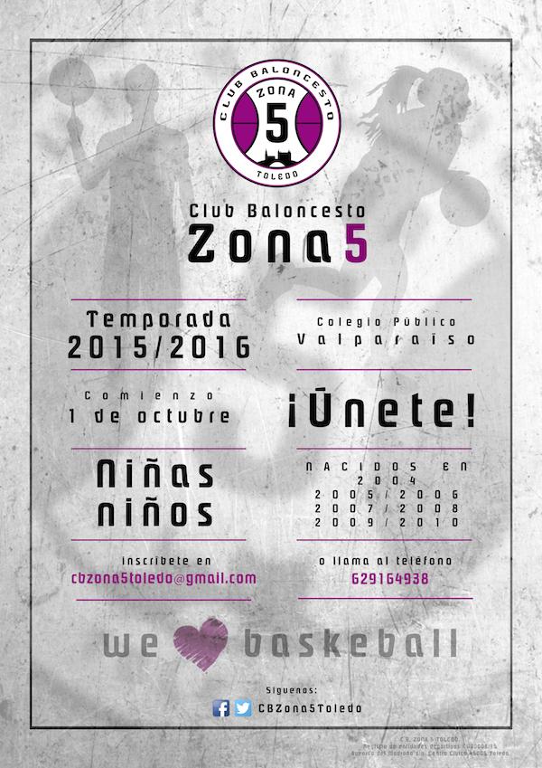 cartel CBzona5 Blanco