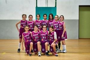 Alevin Femenino Morado - CB Zona 5 Toledo - José Álvarez Fotografía