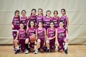 Alevín Femenino Morado - CB Zona 5 Toledo - Jornada 11