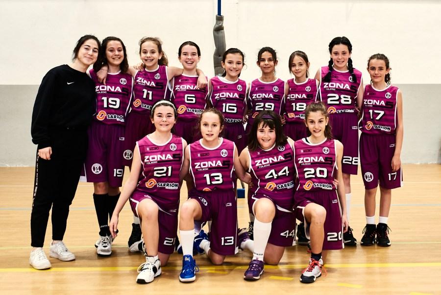 Alevín Femenino Morado - CB Zona 5 Toledo - Jornada 13 - Temporada 2019 - José Álvarez Fotografía