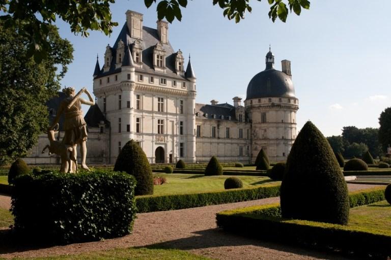 Château de Valençay et son jardin