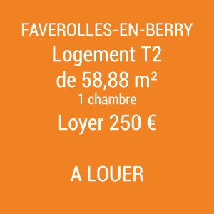 Logement Faverolles-en-Berry