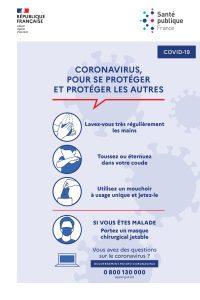 coronavirus gestes barierre