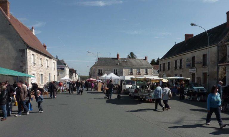 Marché de Luçay-le-Mâle
