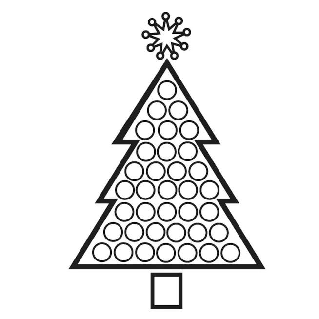 Disegni Da Ricopiare Di Natale.Albero Di Natale Disegni Da Scaricare Stampare E Colorare
